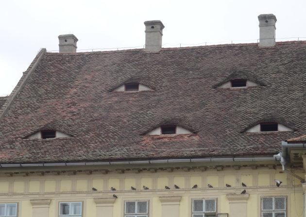 De ogen van Sibiu