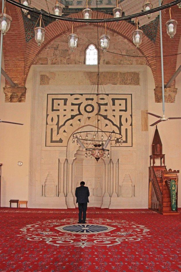binnenkant moskee
