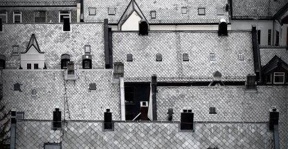 De daken van Ålesund
