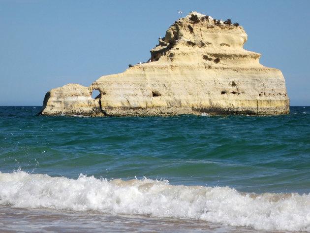 Kust in de Algarve