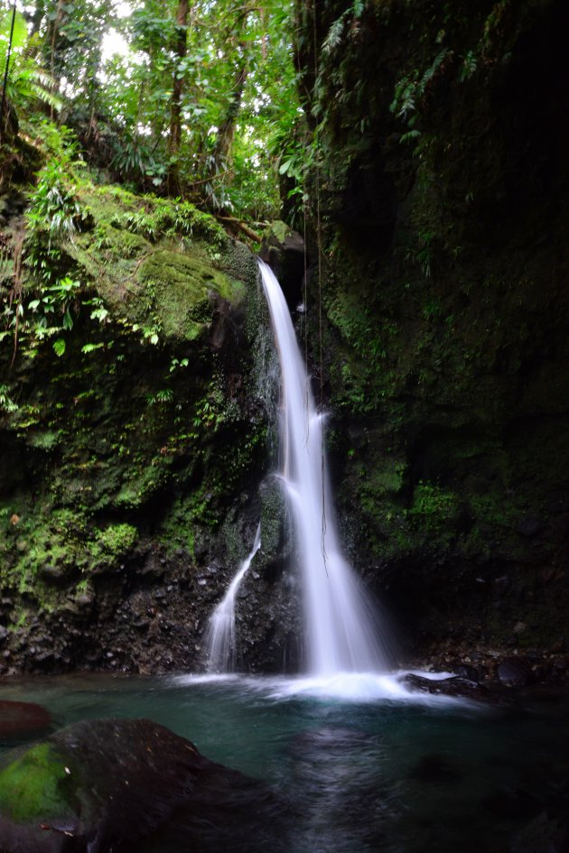 Spanny water fall