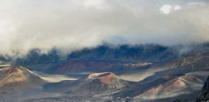 Haleakala kraters