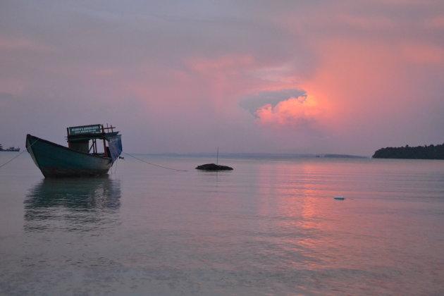 Koh Rong Saloem - voor de storm