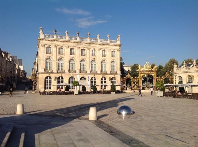 Nancy een verrassend mooie stad.