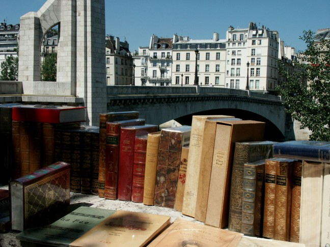 boekenmarkt aan de Seine