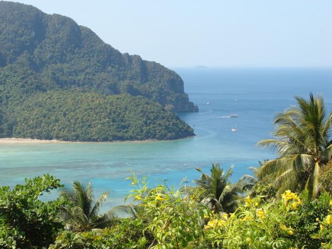 Uitzicht op Koh Phi Phi 1