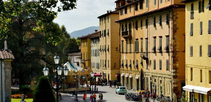 Lucca: welvarend stadje