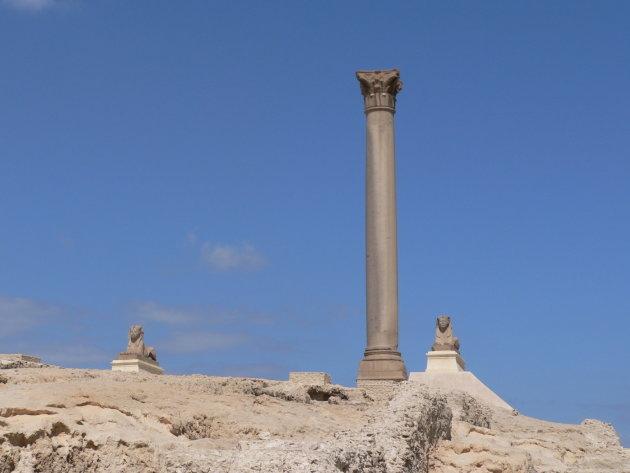 De zuil van Pompei