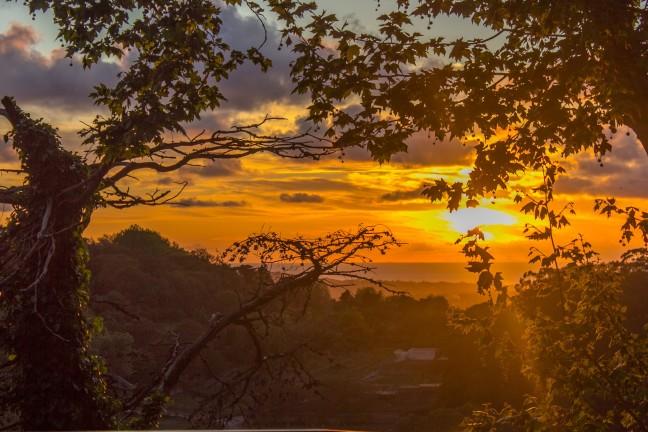 Zonsondergang boven Sintra