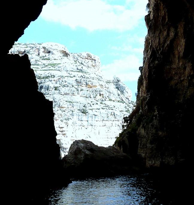 de Blue Grotto