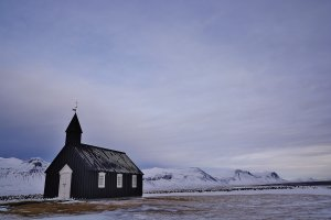 Het kerkje bij Búðir