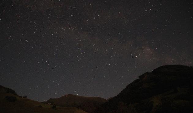 Milky Way in het vizier!