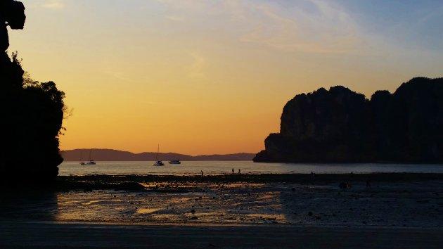 Railay Beach in zijn stilte