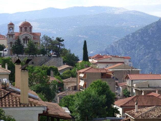 Het plaatsje Delphi