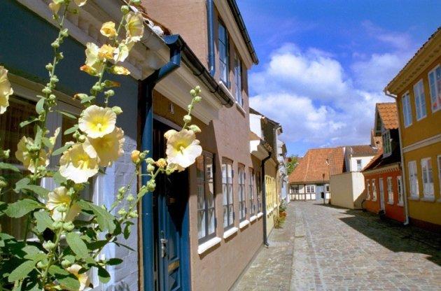 Straatje in Odense