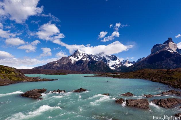 Land van water en bergen