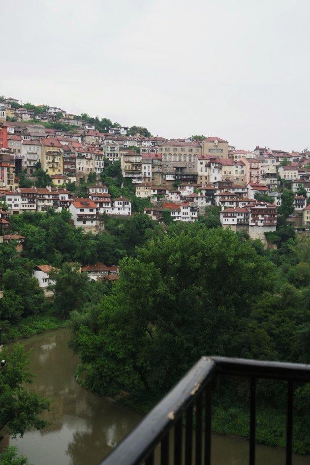 gezicht op Veliko Tûrnovo