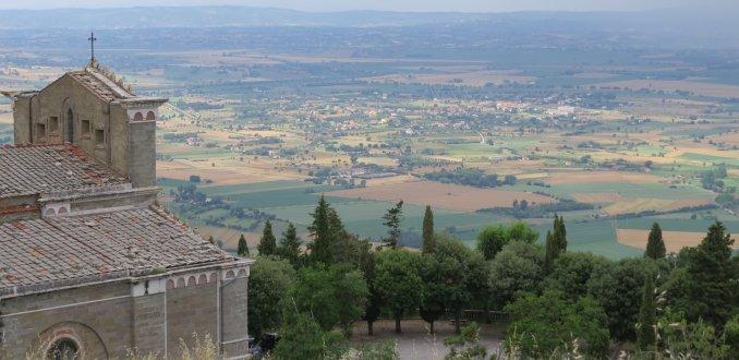 Uitzicht vanaf Cortona
