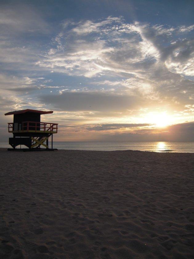 Sunrise op Miami Beach