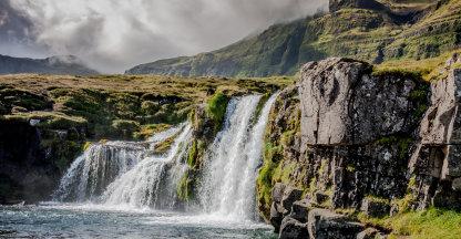 Waterval Kirkjufellsfoss