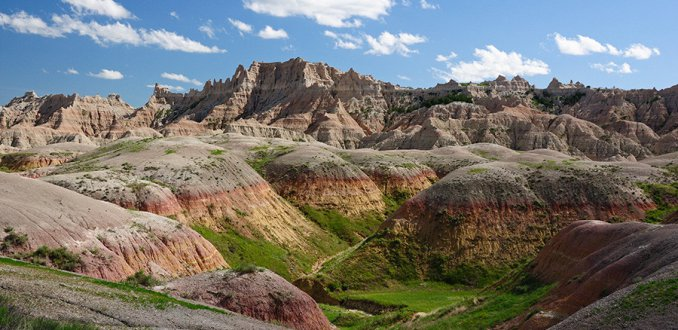 Not bad in the Badlands