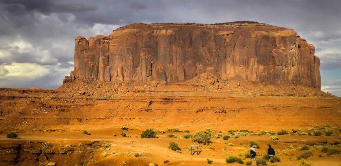 Monument valley op zijn moois