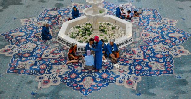in de grote moskee