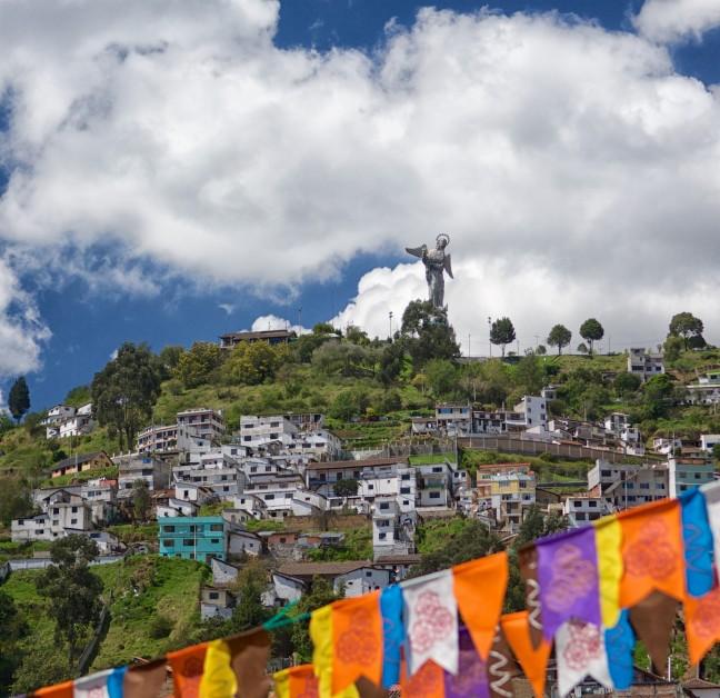 Quito's Madonna