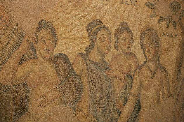 Mozaïeken in het huis van Dionysos