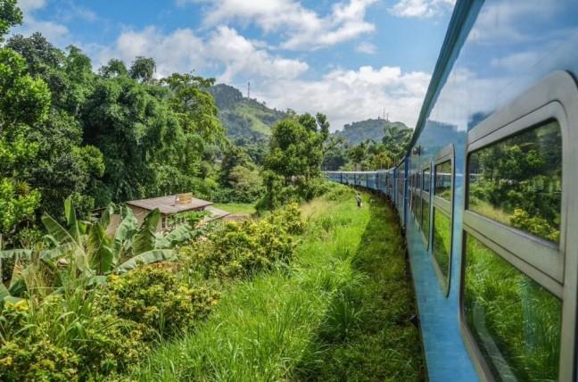 Treinreis door Sri Lanka