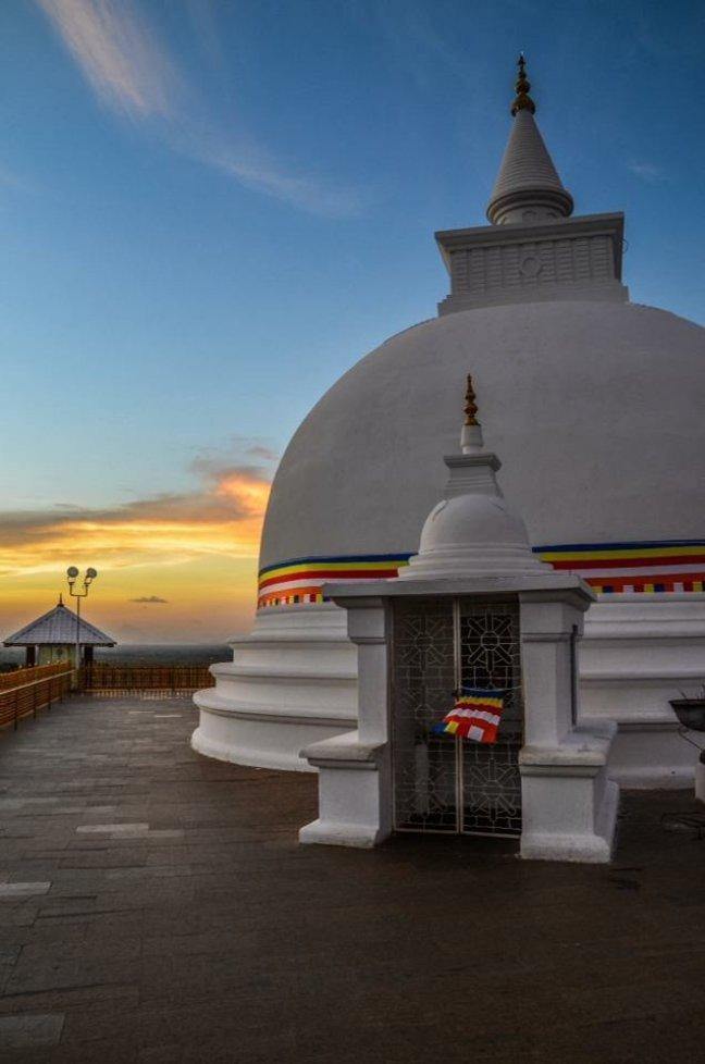 Tempel in Yala NP