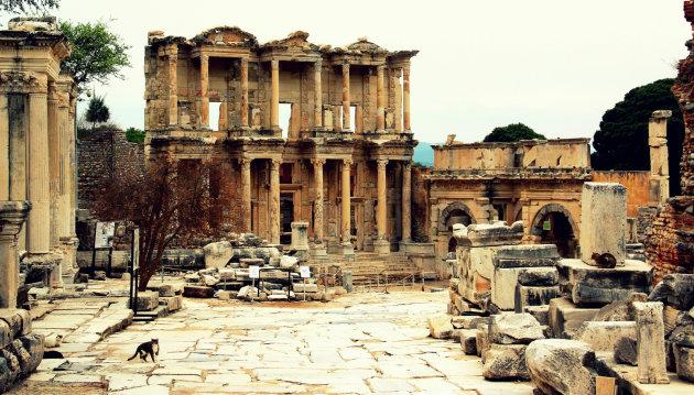 De bibliotheek van Efeze