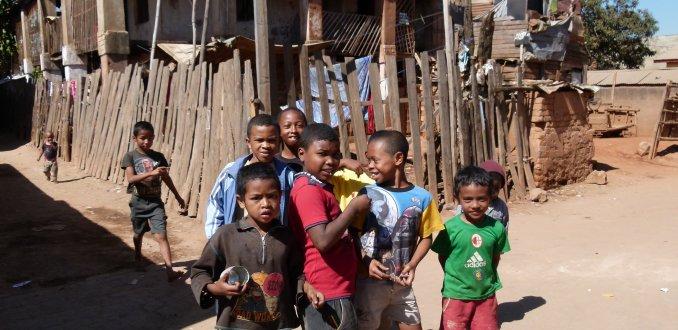 Kinderen uit Antananarivo