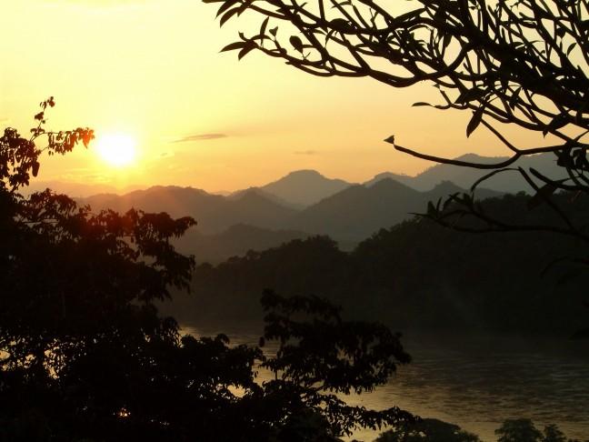 Mekhong sunset