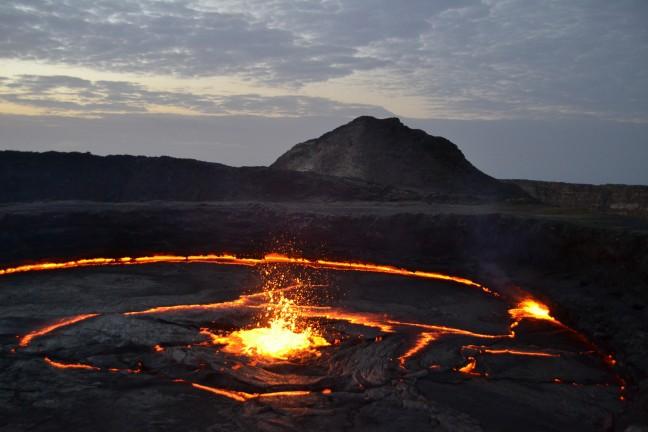 Een showtje van moeder aarde: de Erte Ale vulkaan