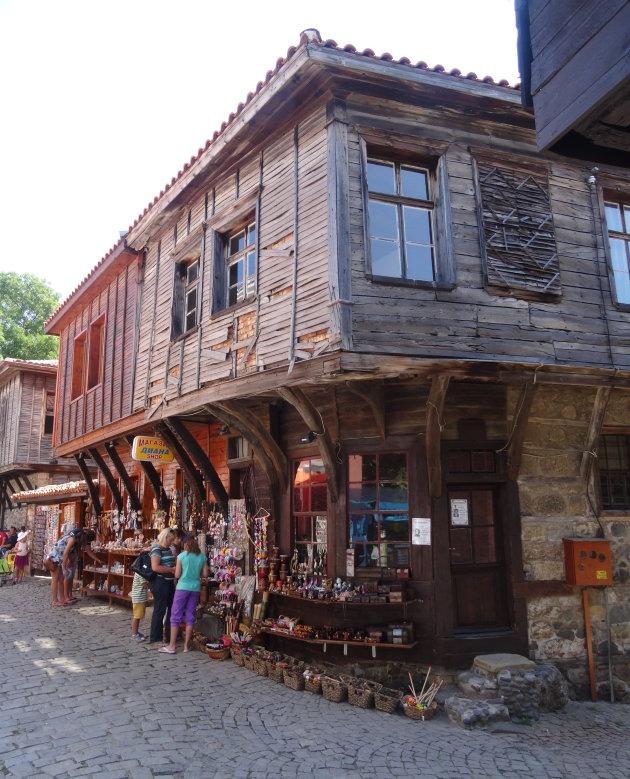 Oud houten huis