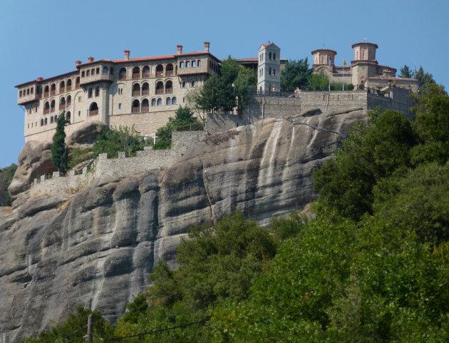 Het Meteora klooster Varlaám