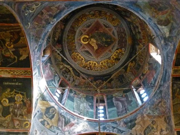 Het Meteora klooster Varlaám (2)