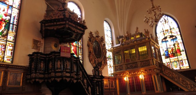 Interieur Tyska Kyrkan