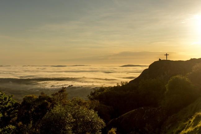 de zonsopkomst bij Marvao