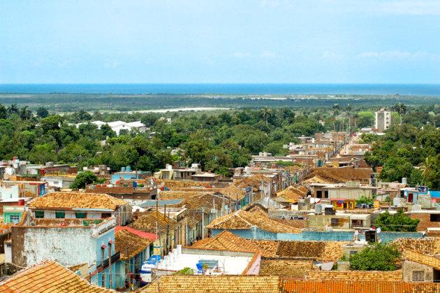 Uitzicht vanaf Palacio Cantero