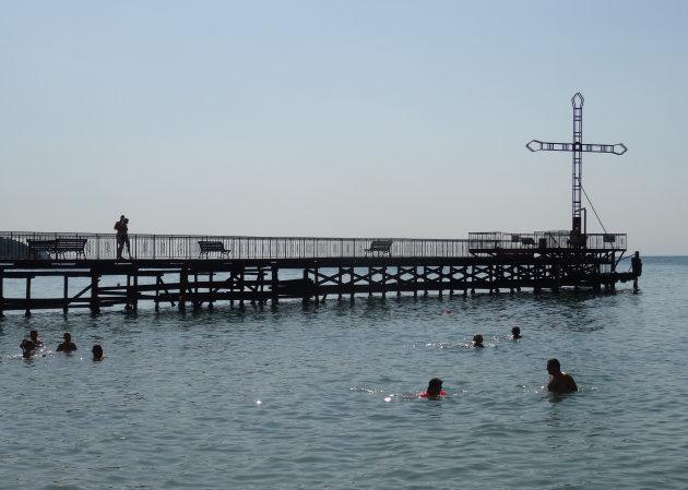 Bij de pier van Elenite