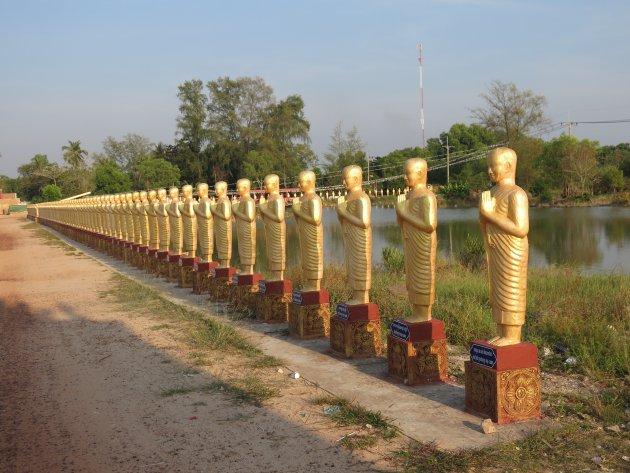 Heel veel Boeddha's
