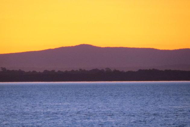 Scarborough zonsondergang