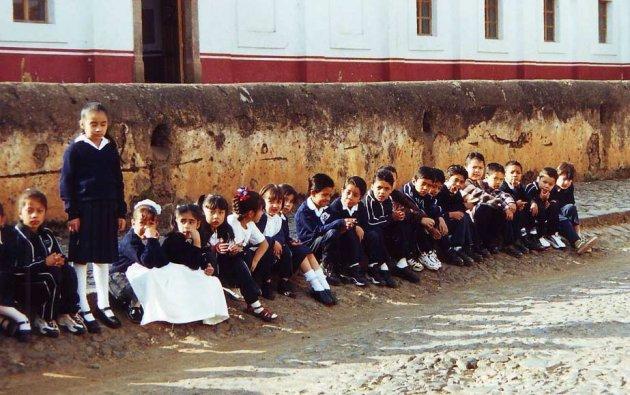 Mexicaanse Schoolkinderen