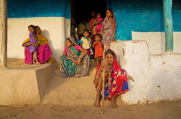 Kleurrijk in Chhattisgarh