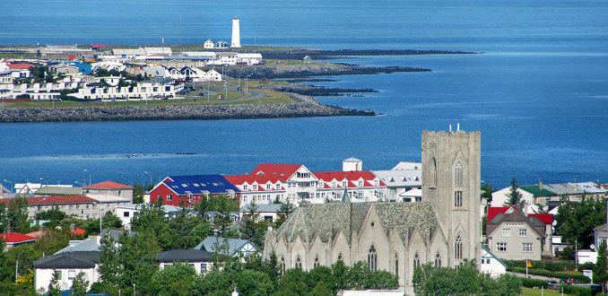 Blijf een weekend in Reykjavik