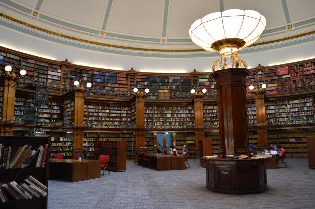 de bibliotheek van Liverpool