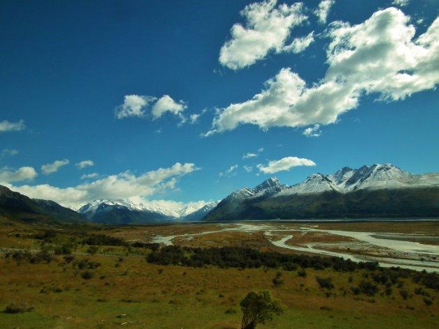 Vergezicht Mount Cook