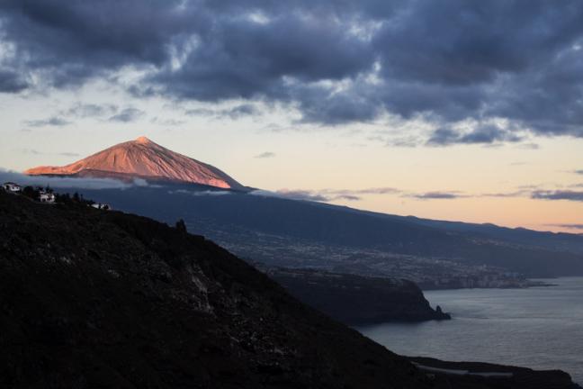 De vruchtbare noordkust van Tenerife